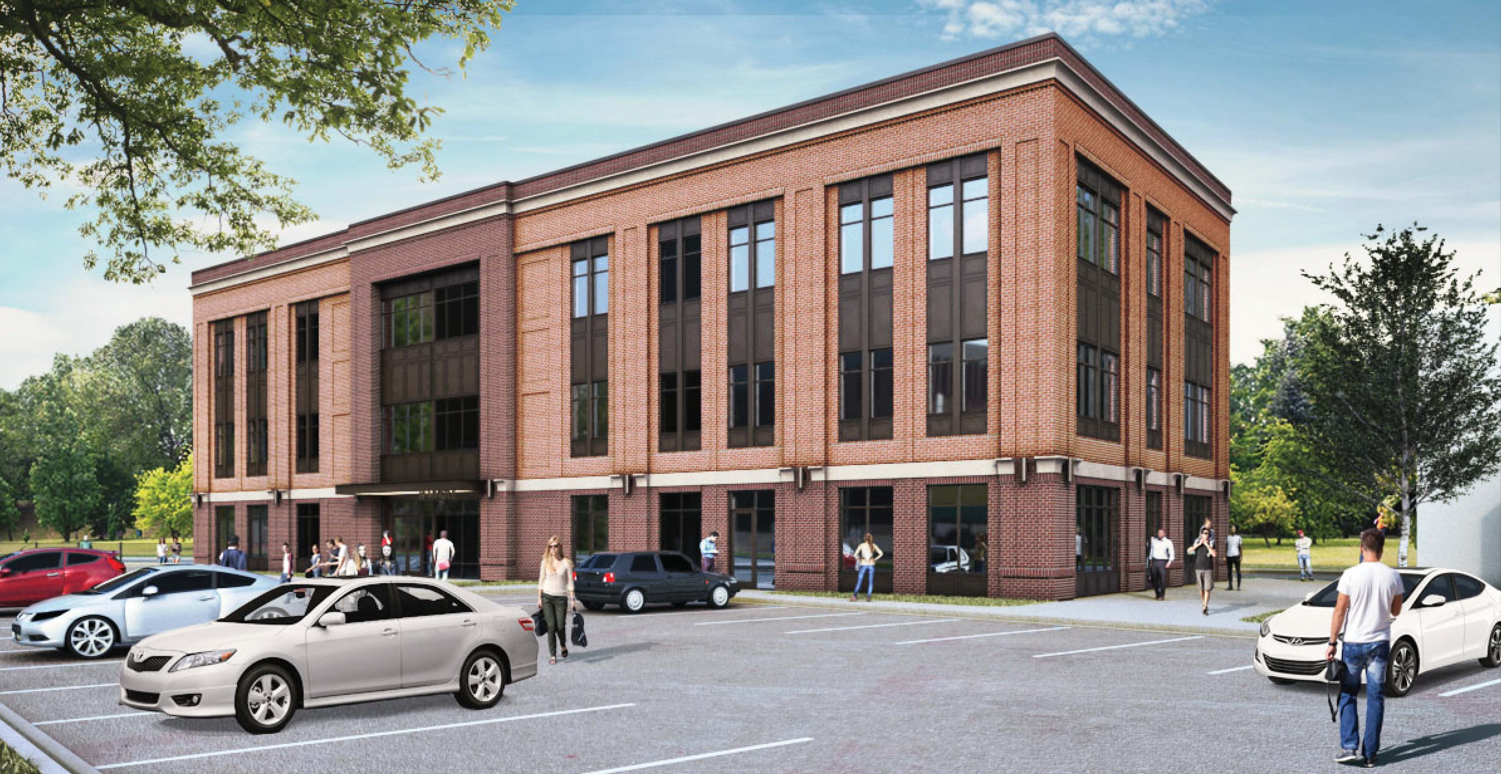 Lat Purser Plans Class A Office Project In Belmont